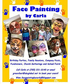Face Painting by Carla